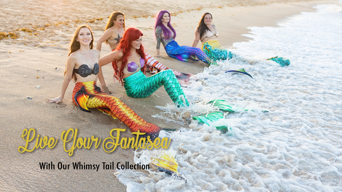 Live Your Fantasea with our Whimsy Mermaid Tail Collection