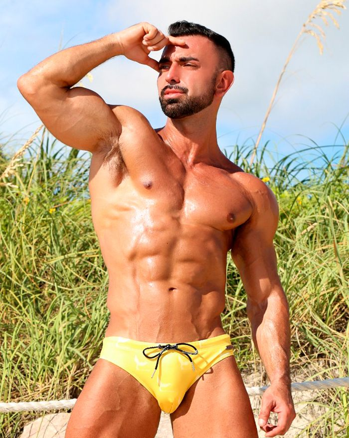 Banana Logo Surfer Brief